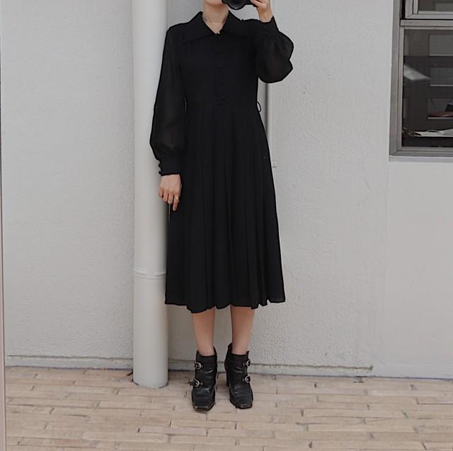 rétro black one-piece