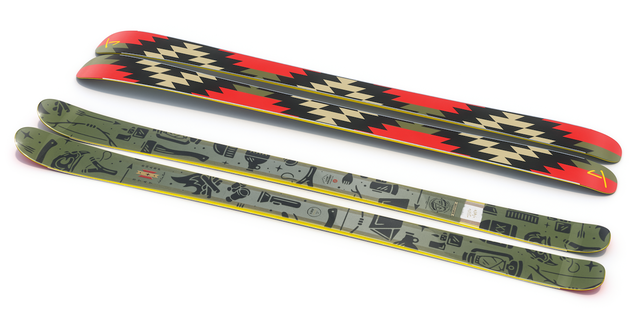 "【予約販売】J skis - THE MASTERBLASTER ""SURVIVOR"" Liam Ashurst コラボ"