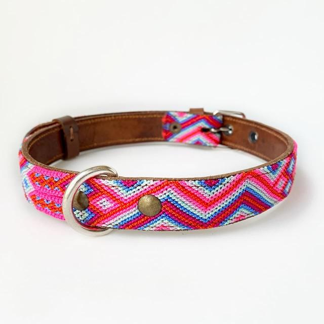 犬の首輪 -サイズL- [コットンキャンディー]