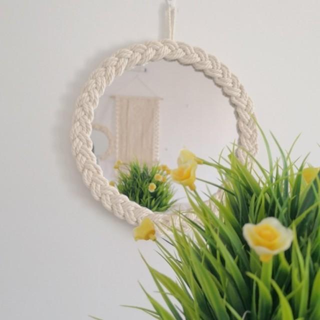 ロープ編みミラー R1381