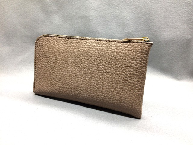 SHOZO Wallet (Soft Shrink): Camel Brown