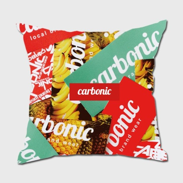 carbonic STICKER BOM cushion