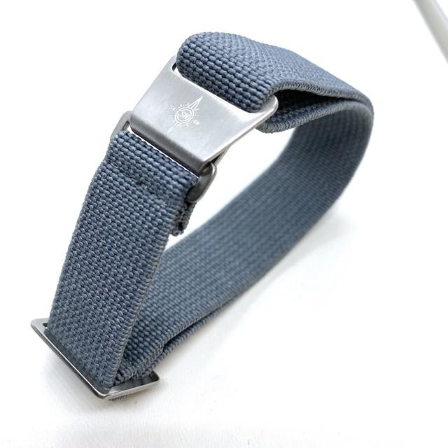 マリンナショナルタイプストラップ   20mm グレー 腕時計ベルト