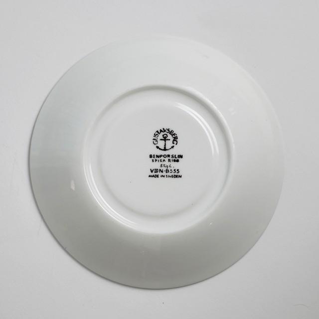 Gustavsberg グスタフスベリ Spisa Ribb スピサ リブ 76mm コーヒーカップ&ソーサー -1-1 北欧ヴィンテージ