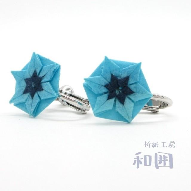 夏色☆花たとうのイヤリング(小)[本ロジウム]【003】