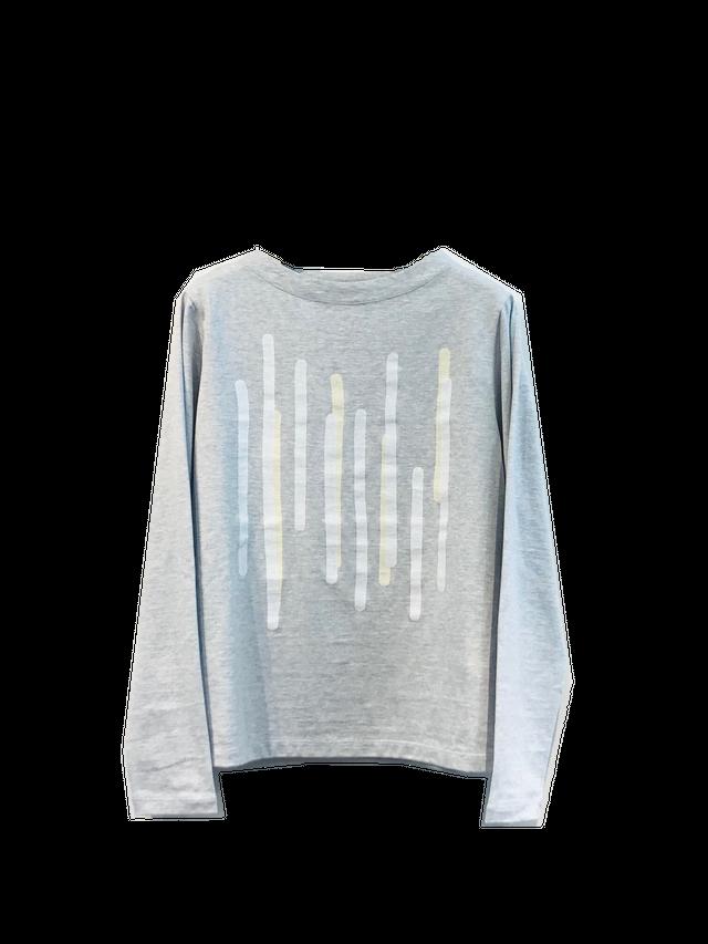 【特別価格】スティックアートプリントTシャツ【200-3233】