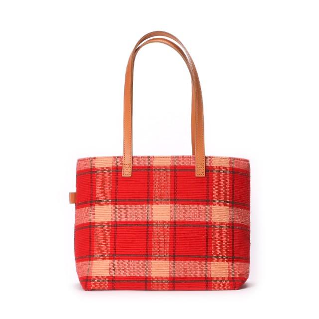Bag Middle / Red × Beige : 2110100200700
