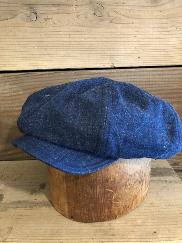 BAA BIG APPLE CASQUETTE (11) 1940s US NAVY DENIM