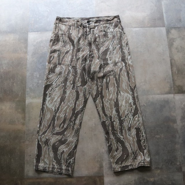 camouflage design pants
