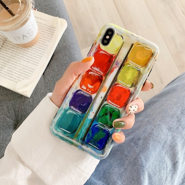 【オーダー商品】Staggered pattern iphone case