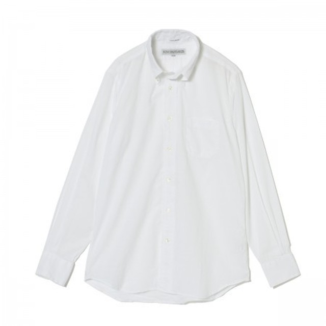 INDIVIDUALIZED SHIRTS / Ultra Light Poplin B.D Shirts StandardFit[WHITE]