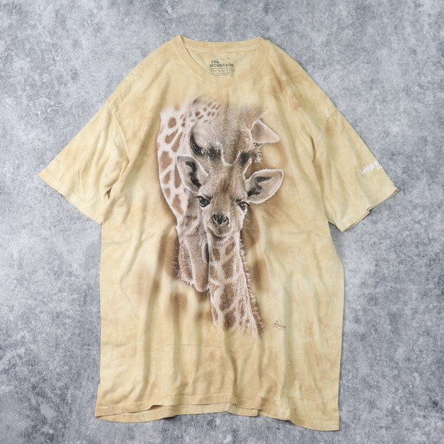 Tシャツ USA製 キリンT The Mountain A207