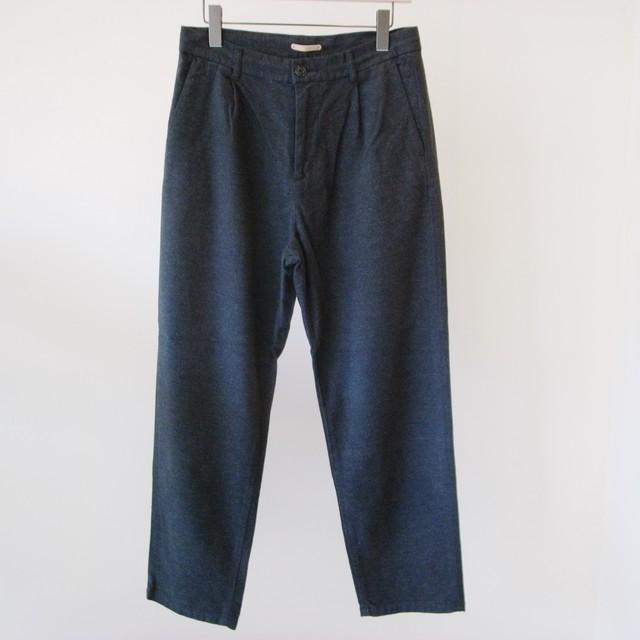 LAMOND.  【 mens 】strech suede tapered pants