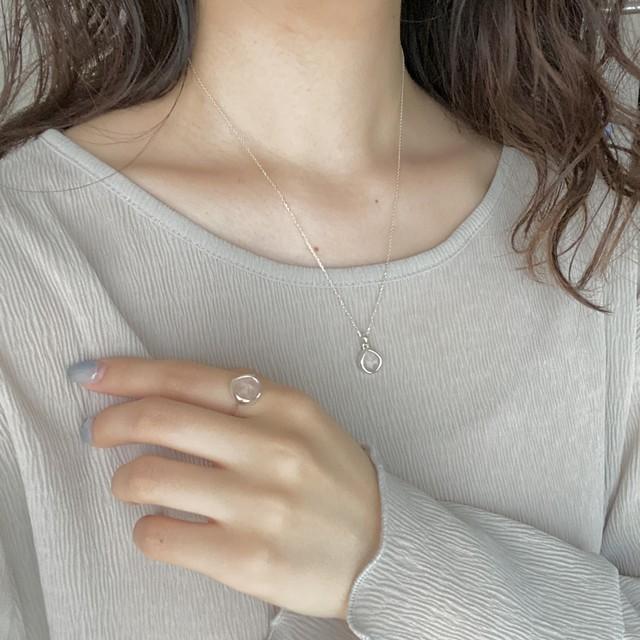 ocean necklace(silver925)
