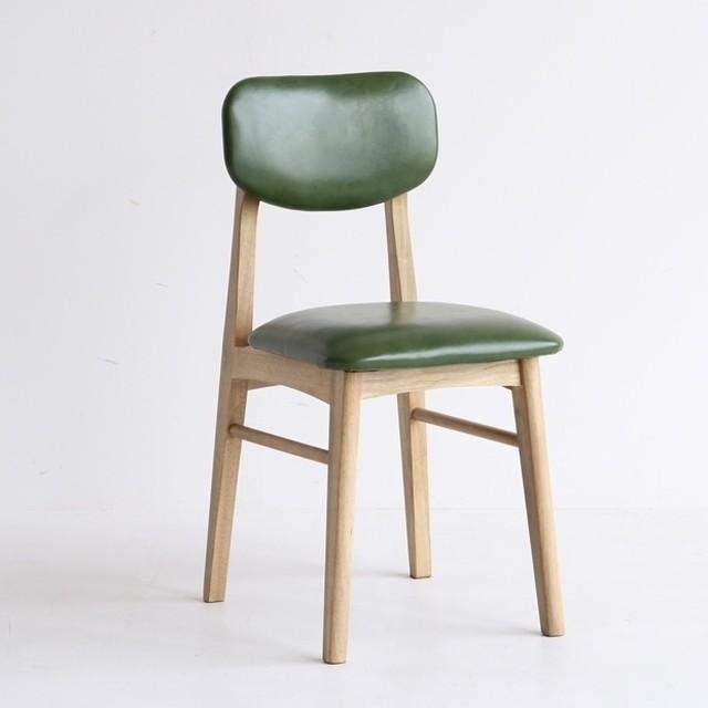 [ Rasic ]Chair GR / ヴィンテージスタイル ダイニングチェア
