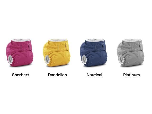 ■kangacare Rumparooz One Size Pocket Diaper【plain】 カンガケア ランパルーズ ワンサイズ ポケット ダイパー(布おむつ)【無地】