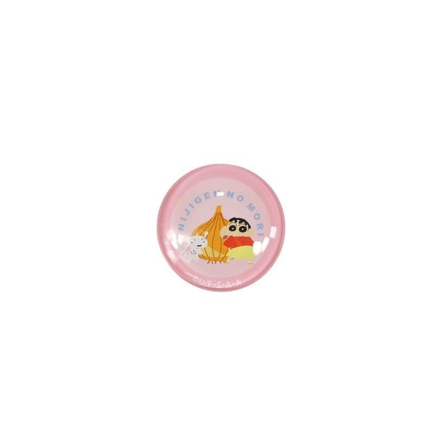 クレヨンしんちゃん クリスタルマグネット ピンク 【ニジゲンノモリ限定商品】