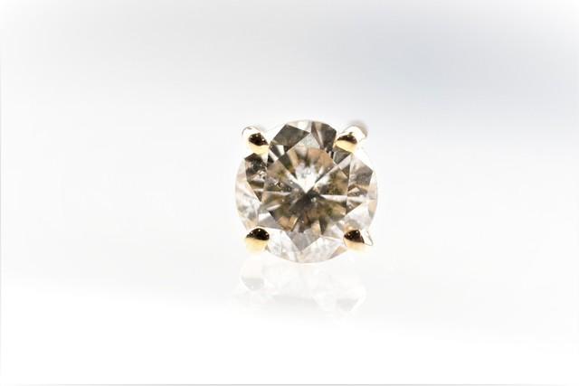 ◯ダイヤモンドパーチ◯天然ダイヤモンド〈無色〉◯0.25ct◯K18YG