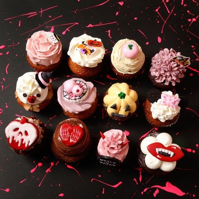 ハロウィン限定カップケーキ全種類12個セット