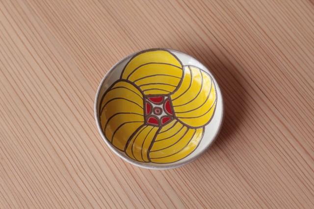 豆皿「オクラ」11cm 岡美希