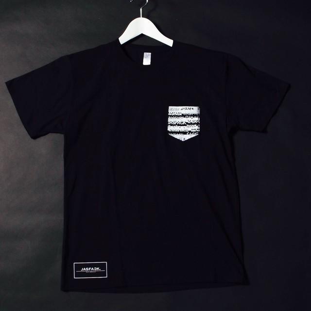 POCKET.Tee (JFK-004) - Black