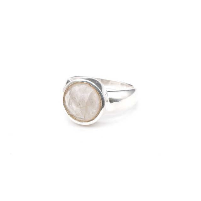 SINGLE STONE NON-ADJUSTABLE RING 010