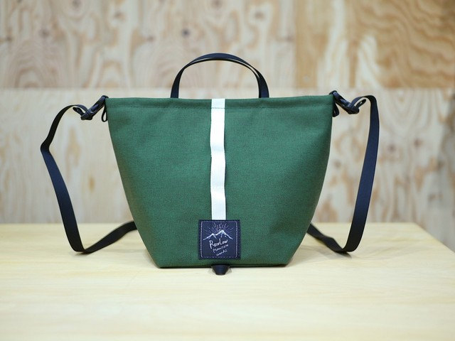 RAWLOW MOUNTAIN WORKS / TABITIBI TOTE (FOREST GREEN)