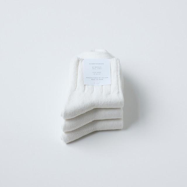 3PAIRS - WHITE 3PACK - メイン画像