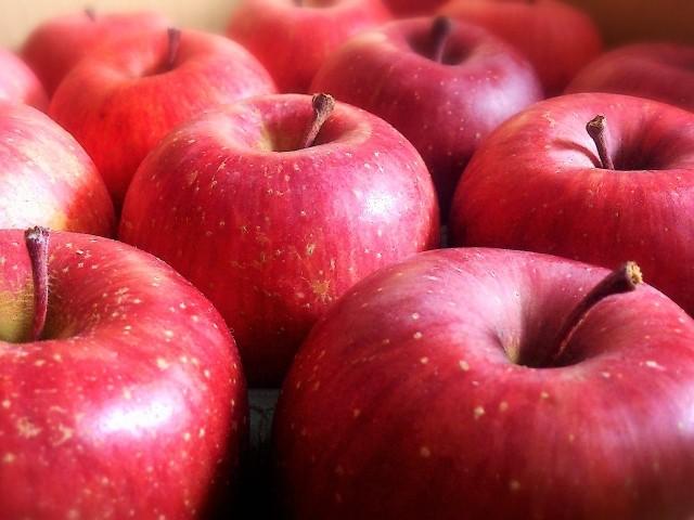 減農薬有機りんご シナノスイート 3個約1kg