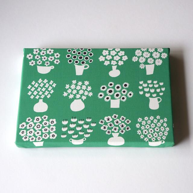 flower base (green) ファブリックパネル