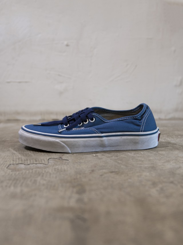 pre-fix authentic sneakers object dyed - blue (dull)【 6/21受注終了 】
