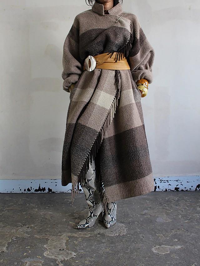 70s Jean-Charles de Castelbajac wool coat
