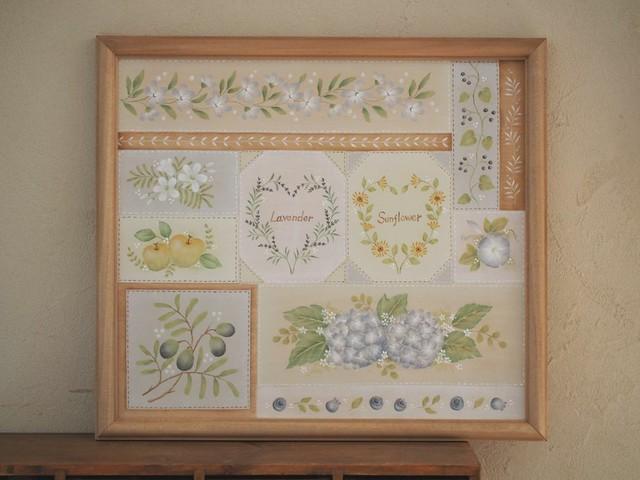 花のミニフレーム 55-10