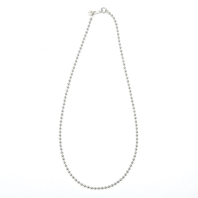 20/80(STERLING SILVER BALL CHAIN NECKLACE 3mm WIDTH)