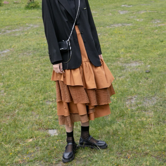 Frill retro skirt(フリルレトロスカート)b-426