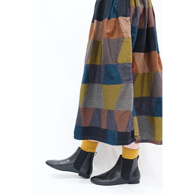 【minan polku】M386J Soft side goa boots