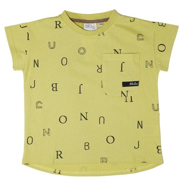 RIO ポケット付き総柄Tシャツ