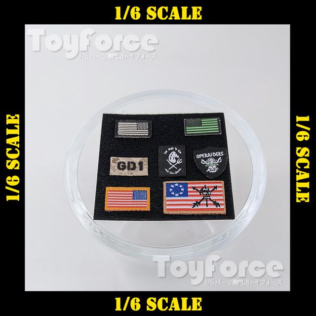 【05692】 1/6 パッチ 1st SFOD-D DamToys