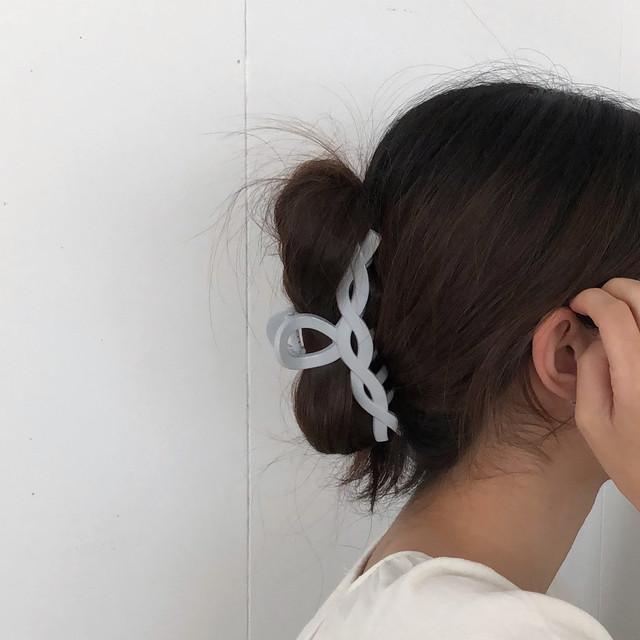 knitting hair clip(3 colors)