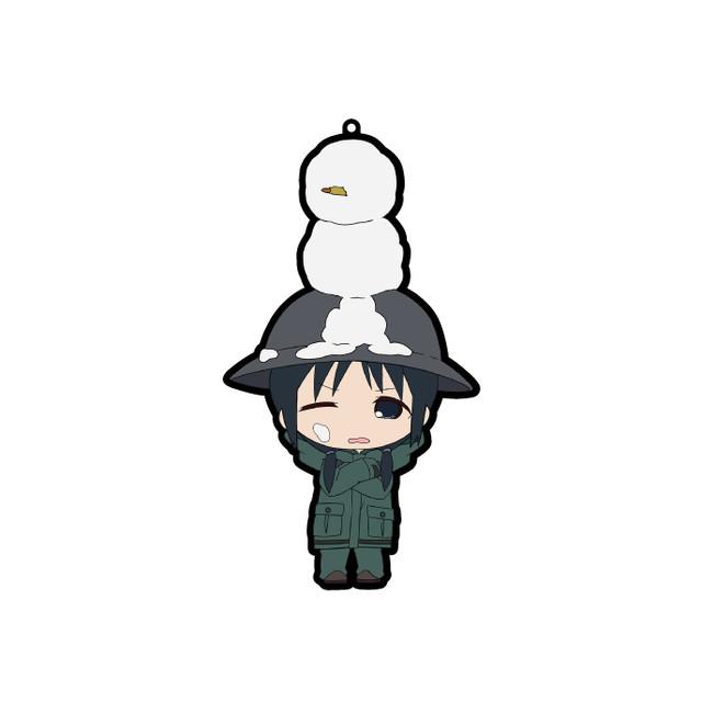 少女終末旅行【きゃらいど】雪だるまonチトラバーストラップ