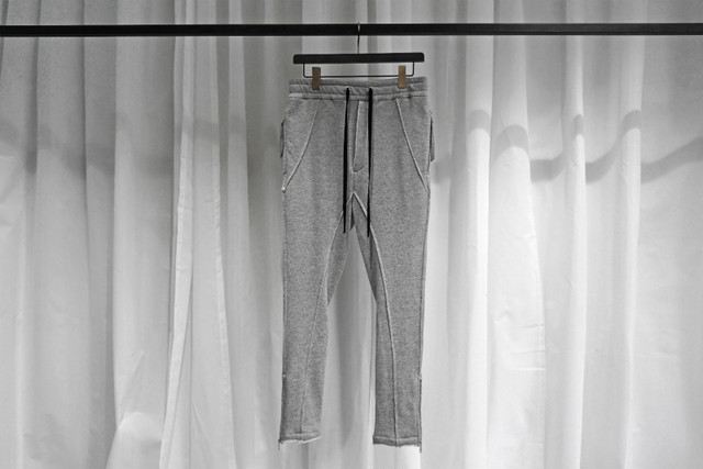 ASKYY / LOW CROTCH SWEAT PT / GRY