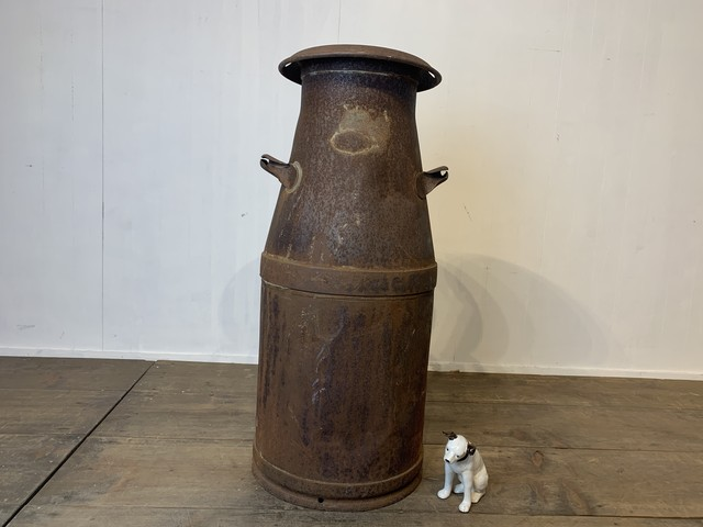 No.i22 古いミルク缶 / 古道具