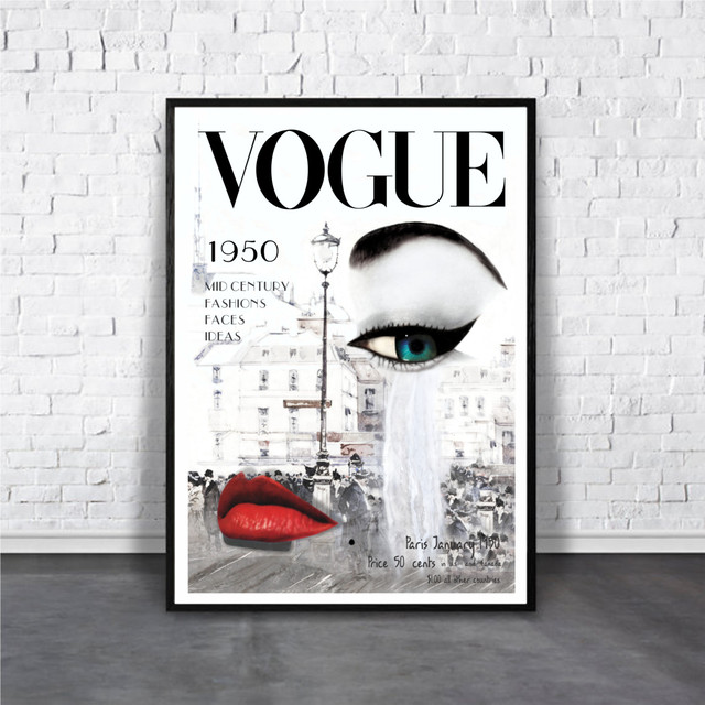 VOGUE / 【アートポスター専門店 Aroma of Paris】[AP-000183]