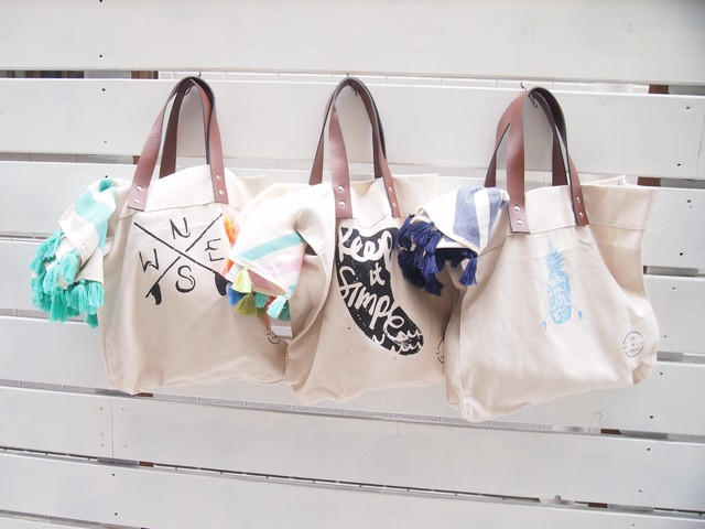 SEA CURRENT Canvas Bag
