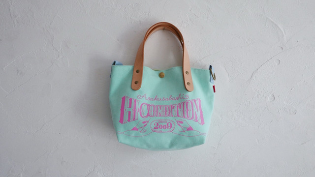 HANP SHOULDER TOTE BAG ( CherryPink )