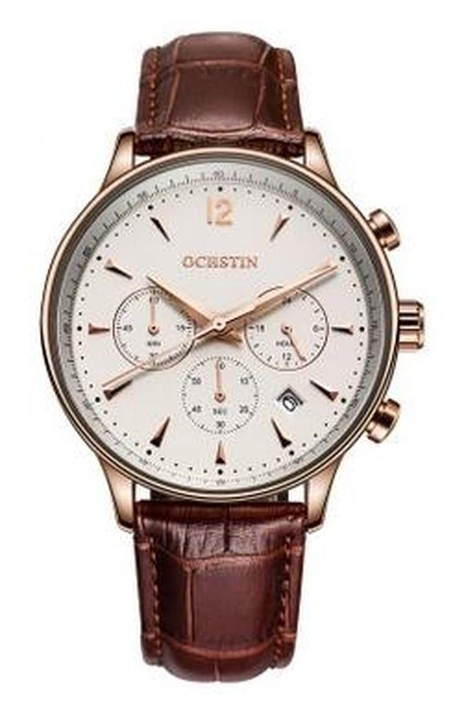 メンズ クロノグラフ カレンダー腕時計