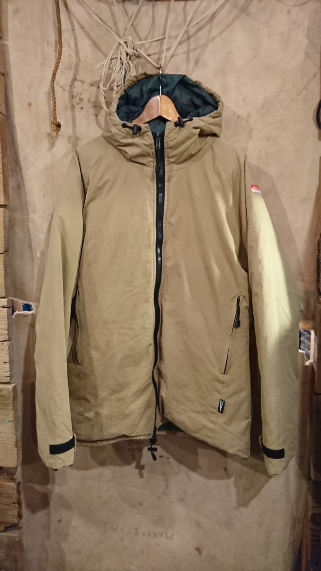 PETER HUTCHINSON VENTILE DOWN JACKET MADE IN ENGLAND