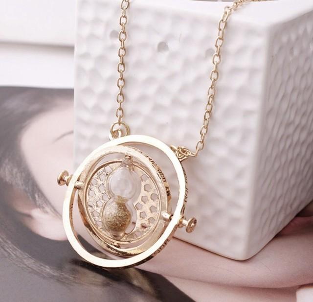 砂時計 ハーマイオニーのネックレス