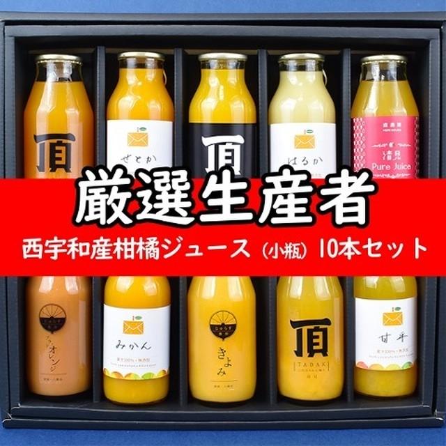 西宇和産柑橘ジュース (小瓶) 10 本セット