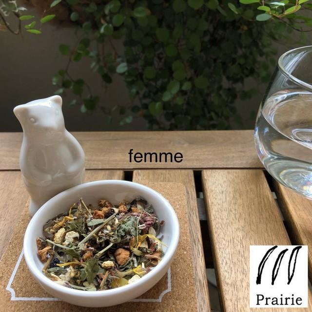 femme - ファム - / ブレンドハーブティー ギフト / ティーバッグ5個